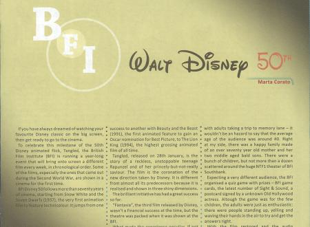 BFI Disney 50th