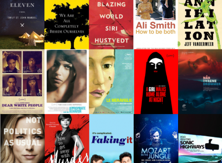 My top 5 books, films and TV shows of 2014
