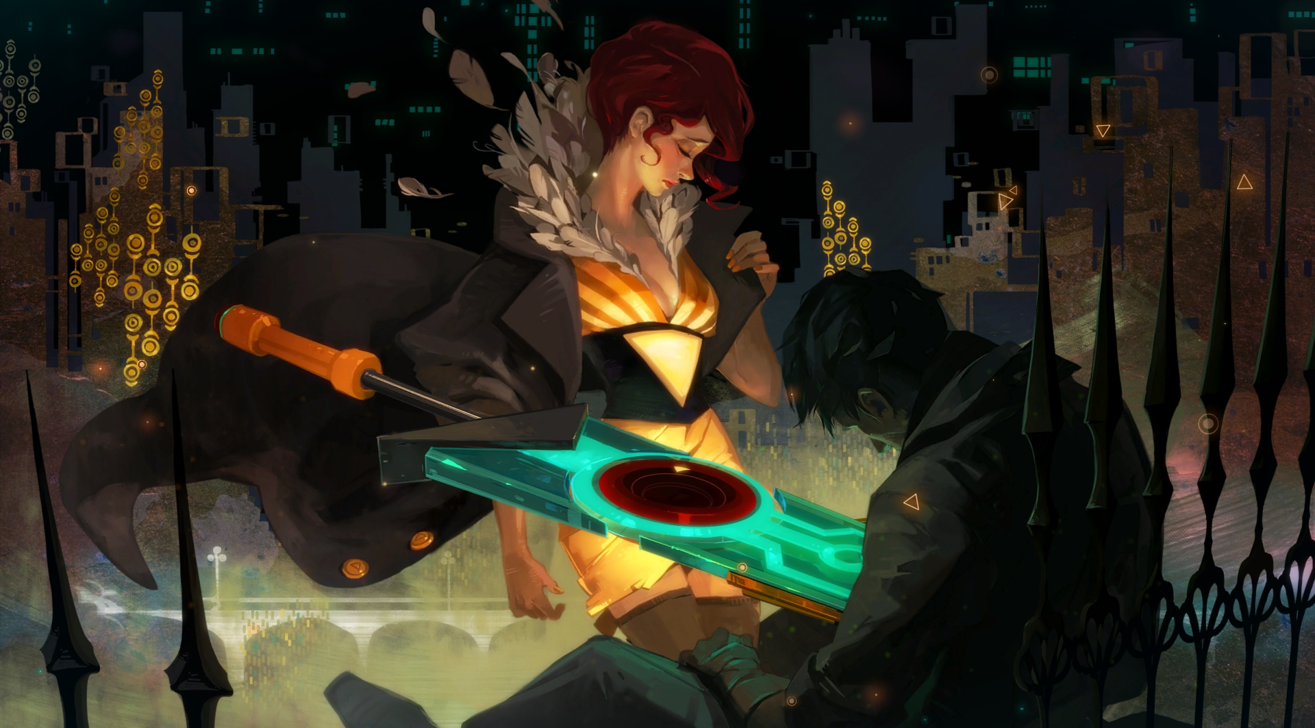 Look at this stuff. Transistor is ridiculously beautiful.