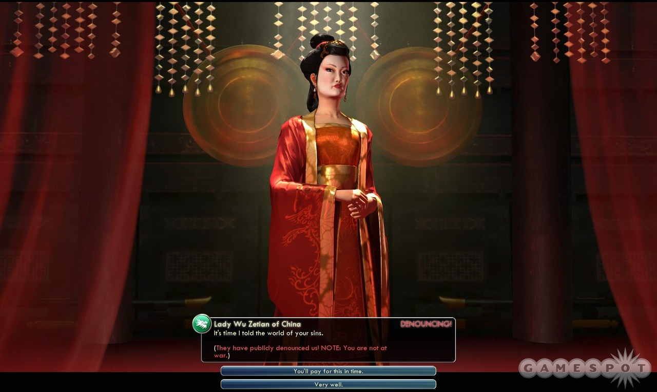 Wu Zetian, HBIC and my favourite leader in Civilization V.