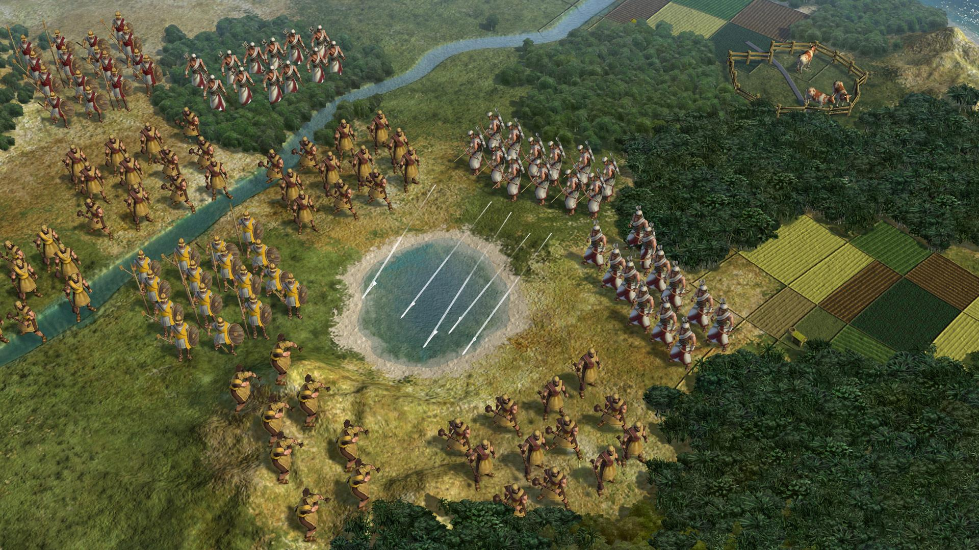 The tiny humans in Civilization V are totally fine though. My favourite victory is the one where you conquer all the other civilizations. Peace out.